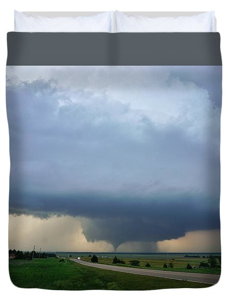 Bennington Tornado - Inception Duvet Cover