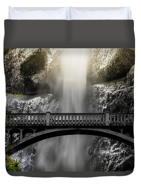 Benson Bridge Duvet Cover