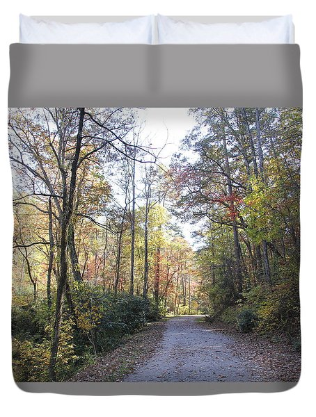 Bent Creek Road Duvet Cover