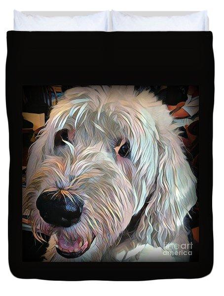 Duvet Cover featuring the photograph Bentley by Jodie Marie Anne Richardson Traugott          aka jm-ART