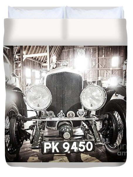 Duvet Cover featuring the photograph Bentley by Randall Cogle
