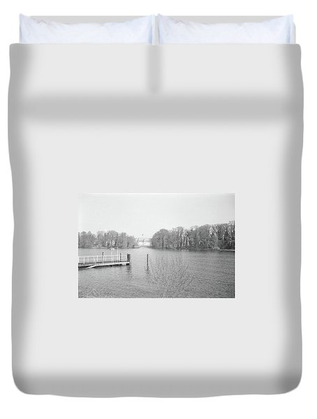 Berlin Lake Duvet Cover