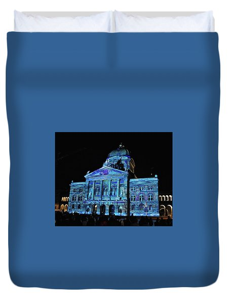 Bern In Blue Duvet Cover