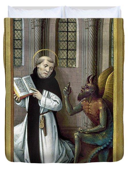 Bernard De Clairvaux Duvet Cover by Granger