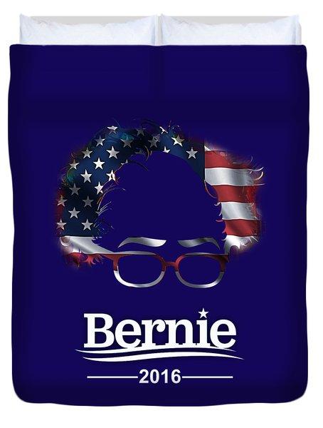 Bernie Sanders 2016 Duvet Cover by Marvin Blaine