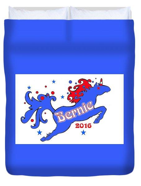 Bernie's Unicorn 2016 Duvet Cover