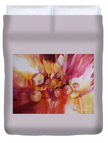 Berries Beautiful Duvet Cover