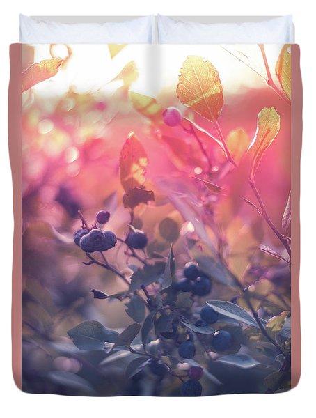 Berries In The Sun Duvet Cover