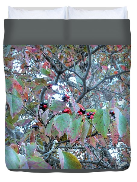 Berries Duvet Cover by Kay Gilley
