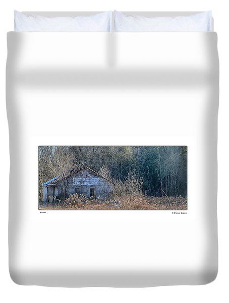 Duvet Cover featuring the photograph Berries by R Thomas Berner