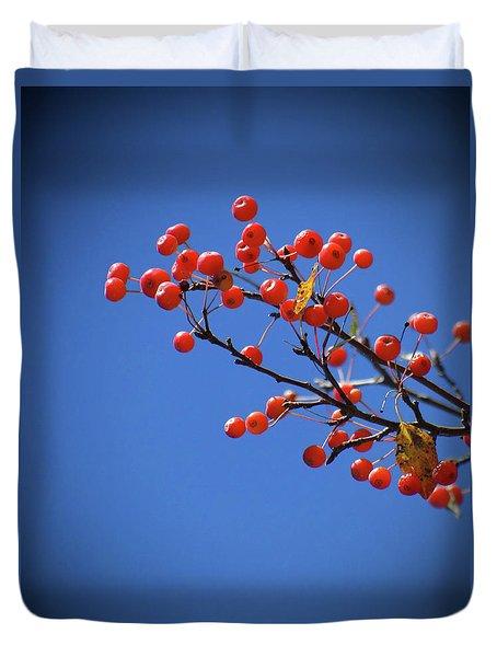 Berry Branch Duvet Cover