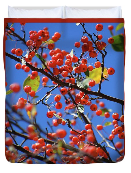 Berry Bunches Duvet Cover