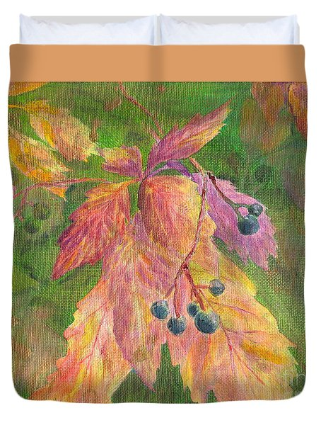 Berry Challenge Duvet Cover
