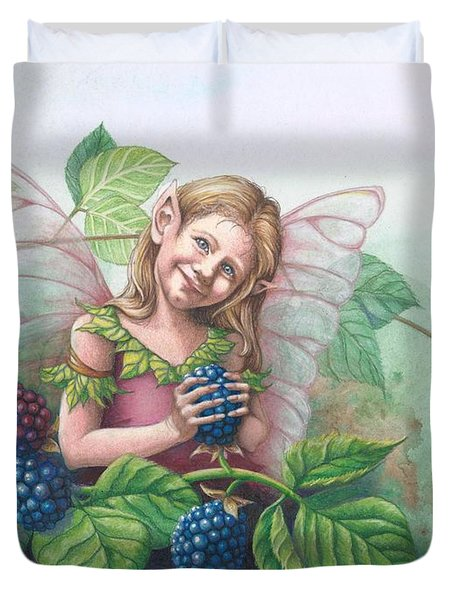 Blackberry Fairie Duvet Cover
