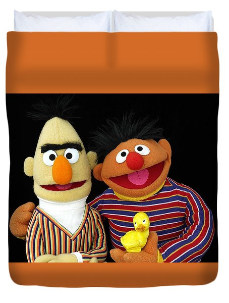 Bert And Ernie Duvet Cover