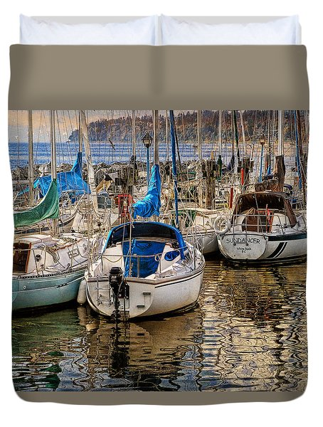 Berthed Duvet Cover