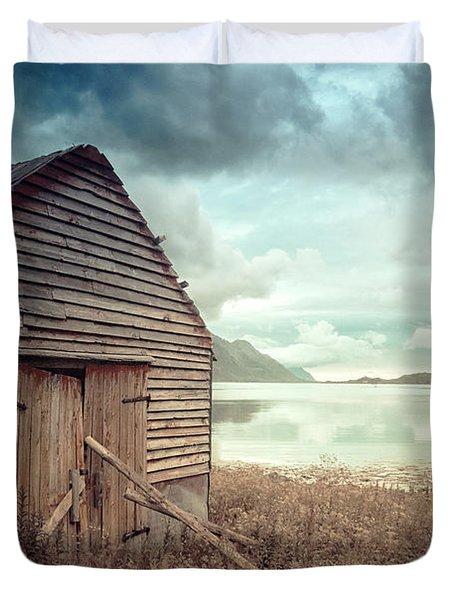 Beside The Lake Duvet Cover