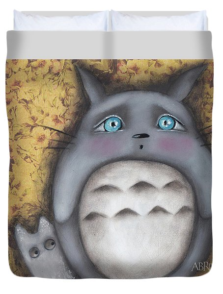 Best Friend Duvet Cover by Abril Andrade Griffith