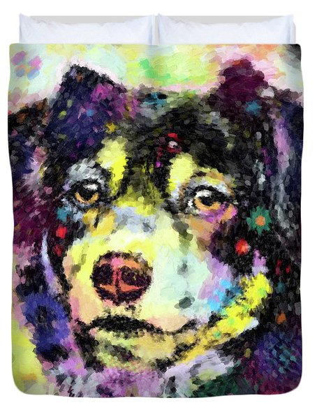 Best Friend Duvet Cover by Gary Grayson