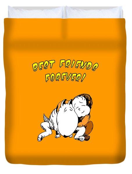 Best Friends Forever Duvet Cover