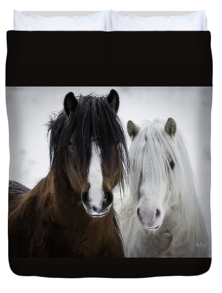 Best Friends II Duvet Cover by Everet Regal