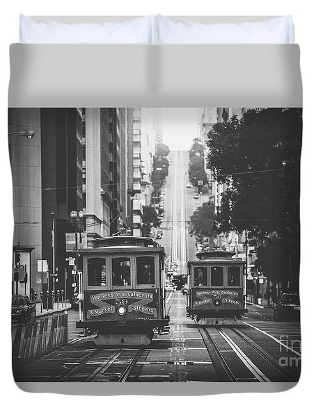 Best Of San Francisco Duvet Cover