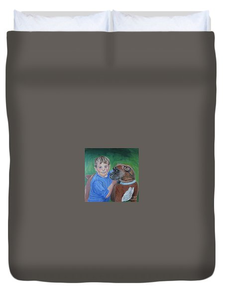 Best Pals Duvet Cover