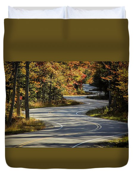 Best Road Ever Duvet Cover