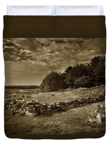 Best Seat Duvet Cover by Denis Lemay