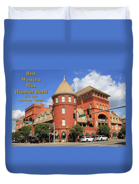 Best Western Plus Windsor Hotel Duvet Cover