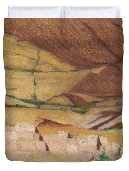 Betatakin Cliffdwellers Duvet Cover