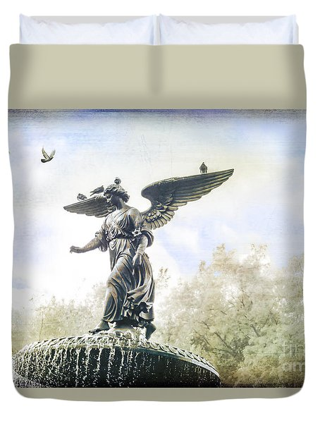 Bethesda Angel Duvet Cover
