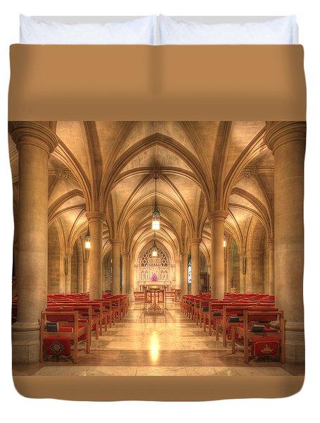 Bethlehem Chapel Washington National Cathedral Duvet Cover