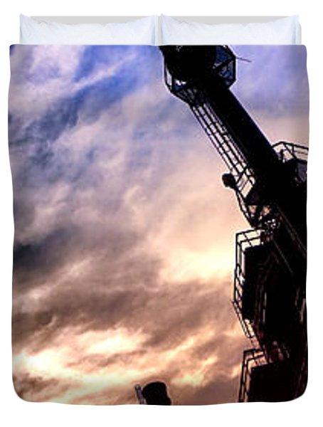 Bethlehem Steel Glory Duvet Cover