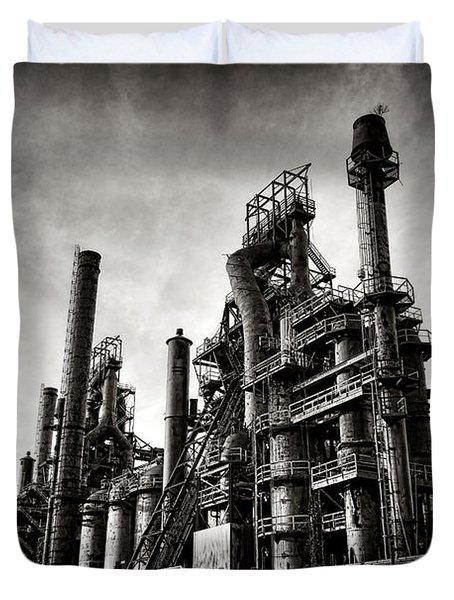 Bethlehem Steel Duvet Cover