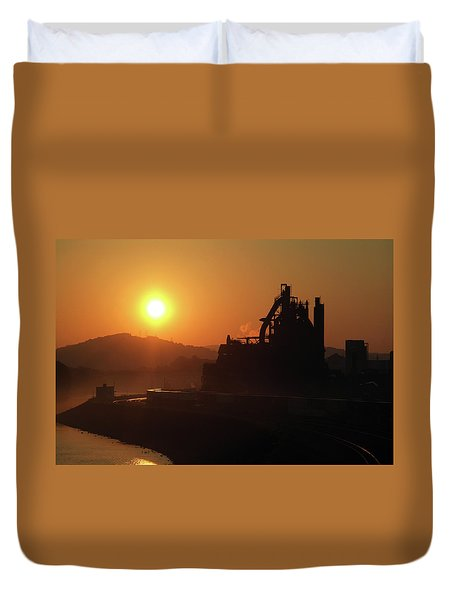 Bethlehem Sunrise Duvet Cover