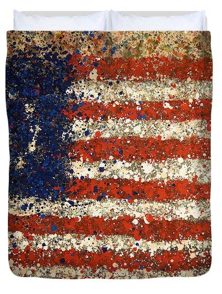 Betsy Ross Flag Number One Duvet Cover