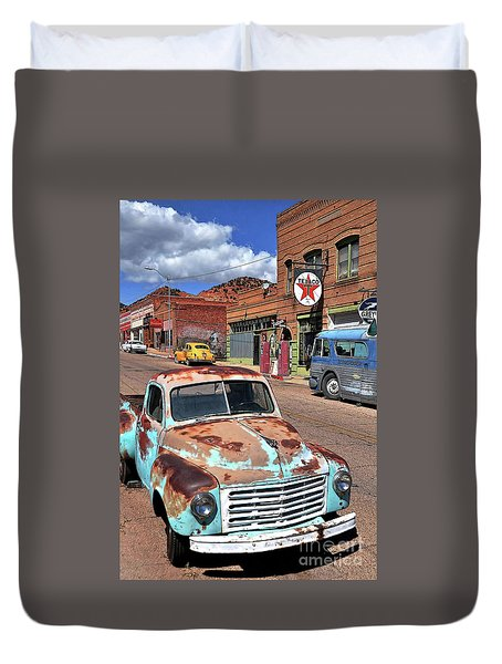 Better Days Duvet Cover by Gina Savage