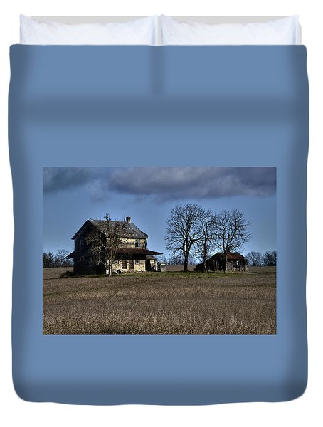 Duvet Cover featuring the photograph Better Days by Robert Geary