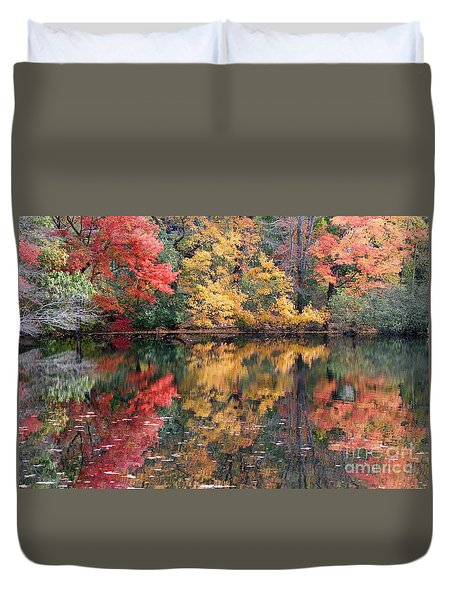 Betty Allen's Vibrant Colors Duvet Cover
