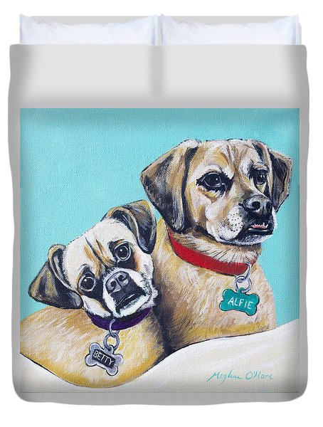 Betty And Alfie Duvet Cover