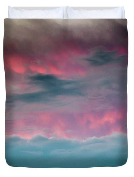 Duvet Cover featuring the photograph Between Mars And Venus by Az Jackson