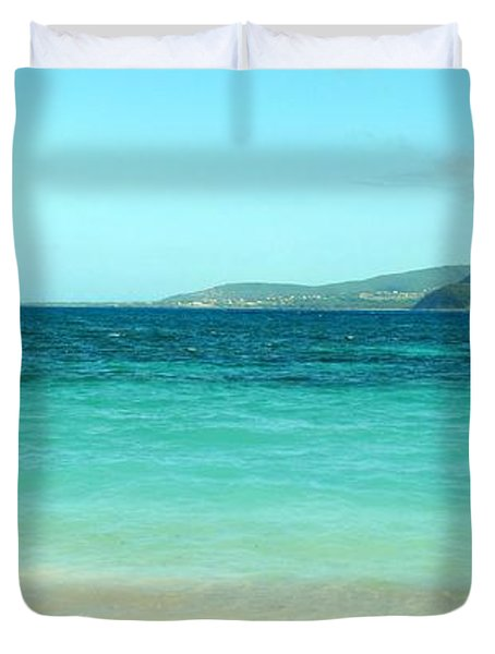 Between Nevis And St Kitts Duvet Cover
