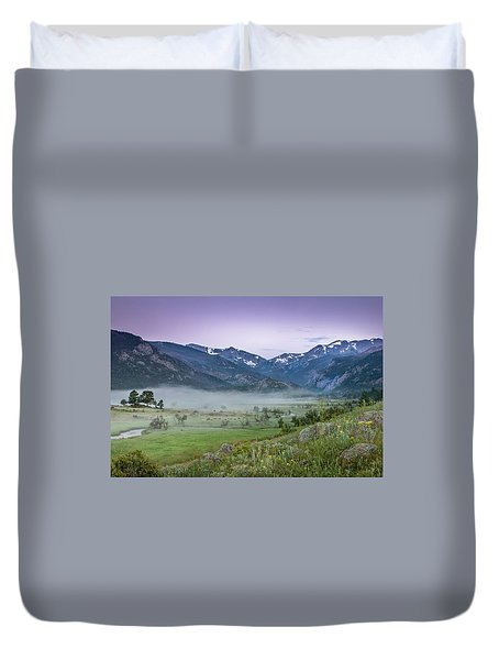 Between Night And Day Duvet Cover