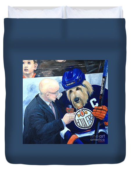 Between Periods Duvet Cover