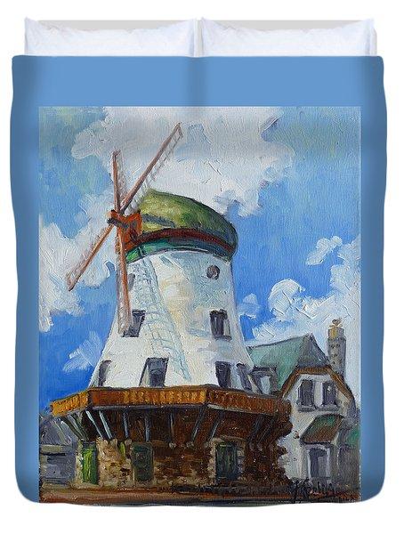 Bevo Mill - St. Louis Duvet Cover