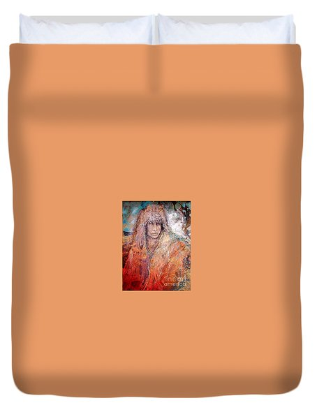 Bewildered Duvet Cover