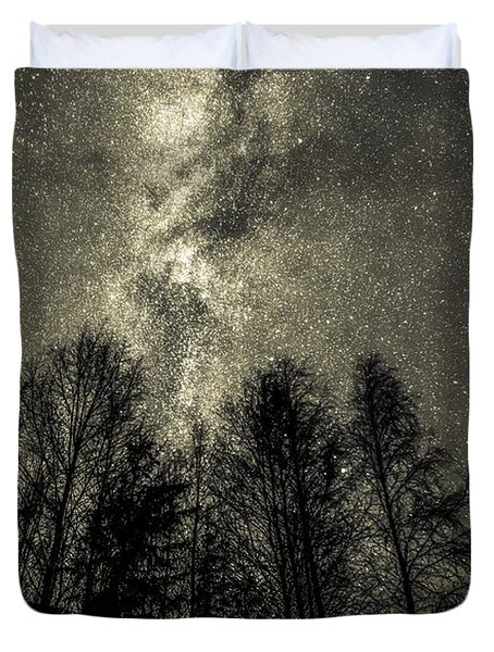 Beyond Eternity Duvet Cover by Rose-Maries Pictures