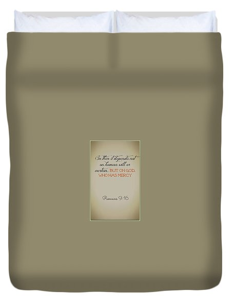 Beyond Our Imperfection Duvet Cover