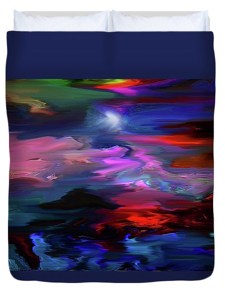 Beyond The Blue Horizon Duvet Cover